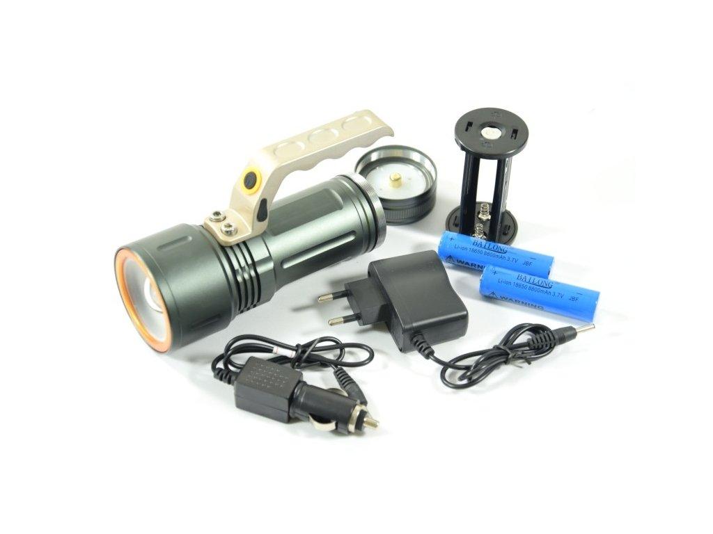 GNT CREE LED svítilna 800Lm