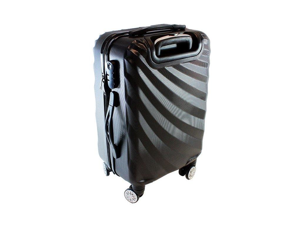 GNT AG508B skořepinový kufr střední 37x23x56 cm Černá