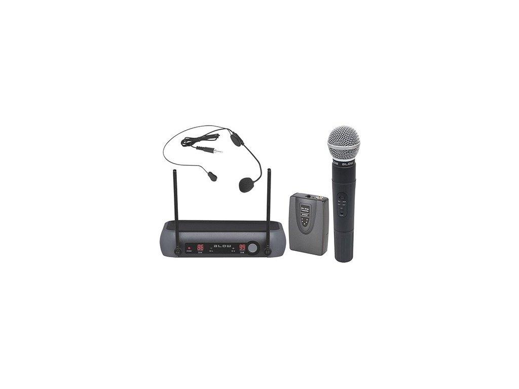 Mikrofon bezdrátový BLOW PRM 903 BLACK