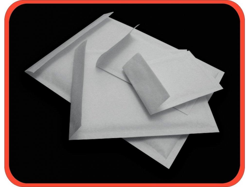 Bublinkové obálky G/17 bílé