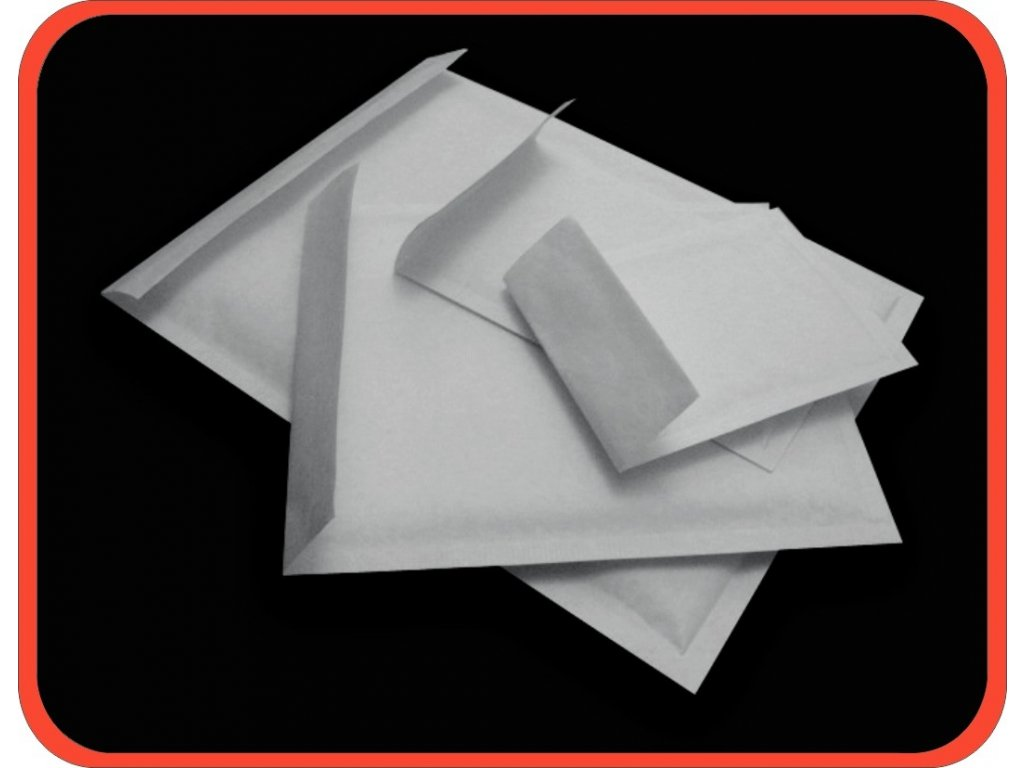 Bublinkové obálky H/18 bílé