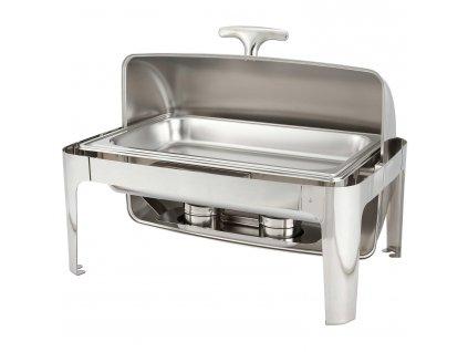GNT Chafing dish, ohřívač Roll-top gold line 9 l