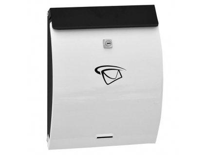 GNT Poštovní schránka BW12 černá/bílá