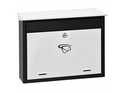 GNT Poštovní schránka BW-1 černá/bílá