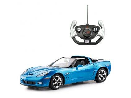 Rastar RC auto Chevrolet Corvette 1:12 licenční modré