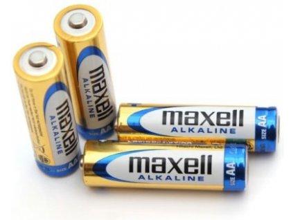 Baterie Maxell Alkaline AA/LR6 4ks