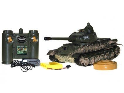 Zegan RC tank T34 1:28 efekt bahno