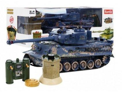 Zegan RC tank VS bunkr na dálkové ovládání 103 efekt bahno