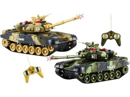 RC Tank WAR set 2ks boj 1:36