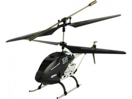 Syma S36 Mini vrtulník helikoptéra na vysílačku černý