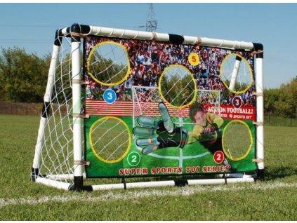 Velká fotbalová branka 120x80 cm  s příslušenstvím