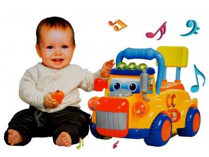 Kvalitní dětské odrážedlo TIR se zvukovými efekty