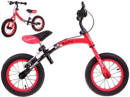 SporTrike kolo s brzdou červené
