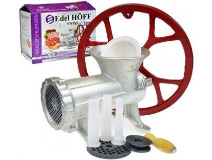 Edel HOFF EH7205 Mlýnek na maso s řemenicí v.č. 32 + 2x šajba + plnička střívek