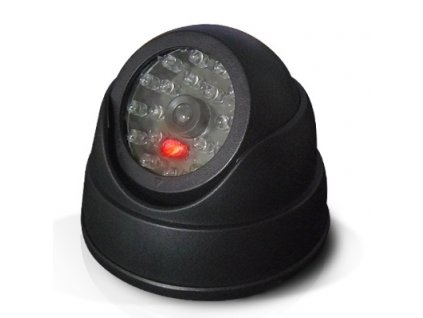 Kamera - nastavitelná atrapa kamery venkovní / vnitřní s LED signalizací
