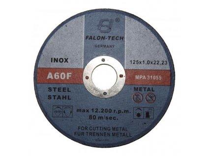 Řezný kotouč na kov 125 x 1 mm