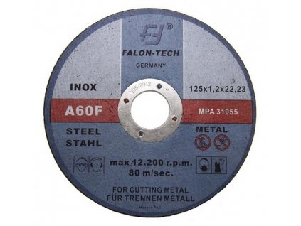 Řezný kotouč na kov 125 x 1.2 mm