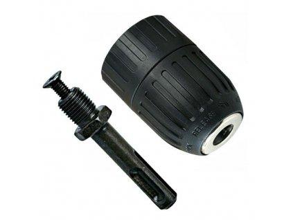 Rychloupínací sklíčidlo - vrtací hlava s adaptérem pro SDS-Plus 2-13mm