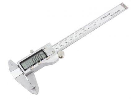Posuvné měřítko 150mm GNT digitální šuplera stříbrné