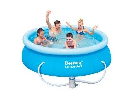 Bazén Bestway 244 x 66 cm s kartušovou filtrací