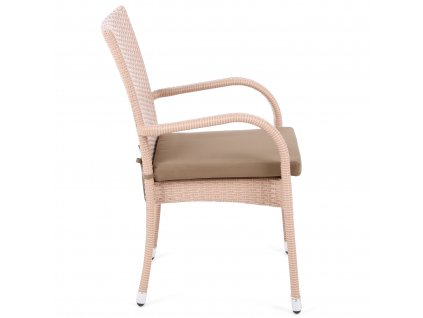 meble z technorattanu mori beige 6 1 home garden 6175