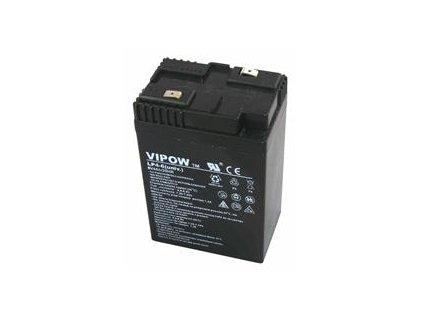 Baterie olověná 6V / 4Ah - bezúdržbový akumulátor