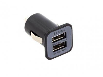CL adaptér - Nabíječka do auta 2x USB  1