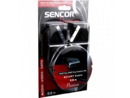 Scart kabel  SENCOR 0.8m