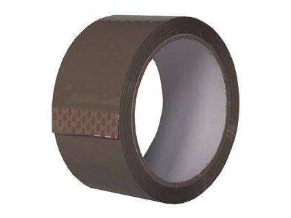 Lepicí páska balící 48 mm x 66 m hotmelt hnědá