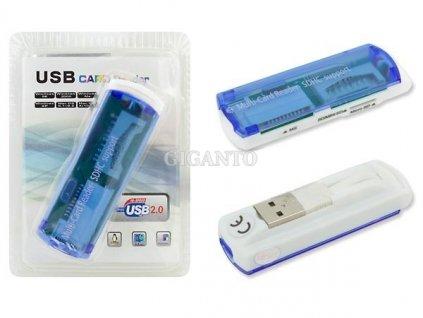 Čtečka paměťových karet USB 43 v 1