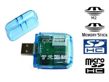 Čtečka paměťových karet USB ALL IN
