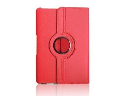"""Otočné pouzdro na 7"""" tablet, Samsung Galaxy Tab2 7 P3100/P3110 red"""