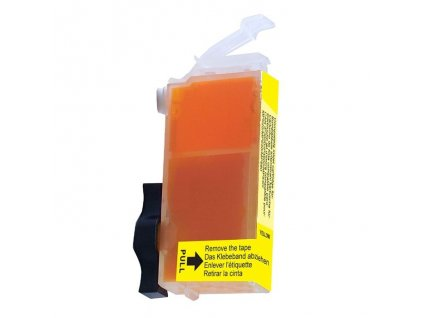 Cartridge Canon CLI-521Y žlutá  (9ml) bez čipu AGFA