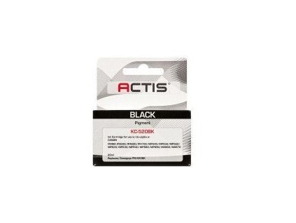 Cartridge Canon PGI-520Bk černá (20ml) s čipem ACTIS