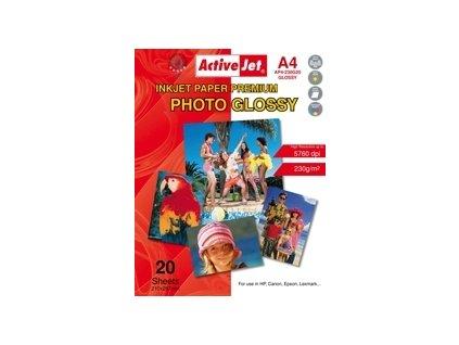 Fotografický papír  ActiveJet AP4-230G20