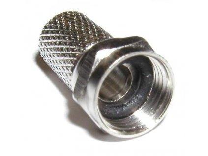 Konektor F 6,6 mm s gumovým těsněním 50 ks