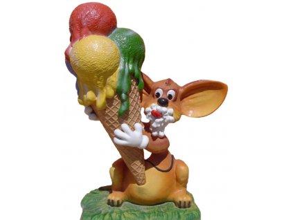 GNT Reklamní poutač - zmrzlina myšák 180cm