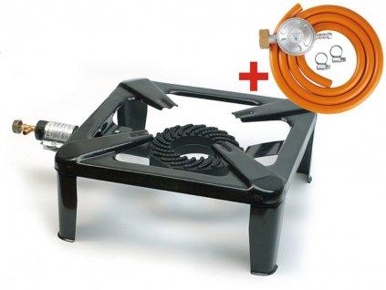 Mastertools AF014E Plynová stolička 7,5kW + regulátor Meva NP01008