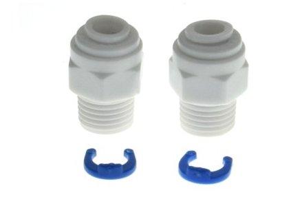 Koncovky k univerzálním vodním filtrům do lednice