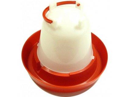 GNT Plastová napáječka pro drůběž s držadlem 1,5L