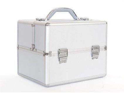 GNT Kufřík kosmetický  32x21x26 cm stříbrný