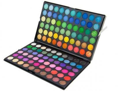 Profesionální paleta očních stínů 120 barev AG167A