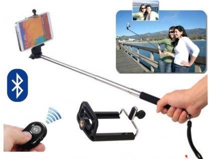 Teleskopická selfie tyč s Bluetooth ovladačem J788