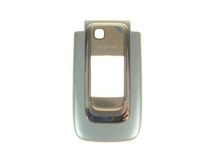 Originální přední kryt Nokia 6131/stříbrno zlatý