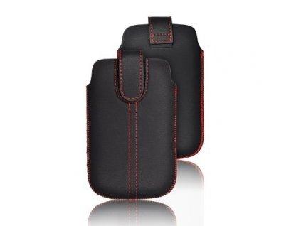 CHic Ultra Slim- Pouzdro na mobil Black pro HTC Desire C, Samsung S6500, S5360,....