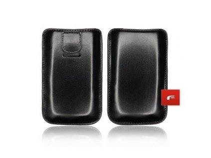 ForCell Magnetic Pouzdro na mobilní telefon Black pro iPHONE 3G/4G/4S/S5830 GALAXY ACE, ...