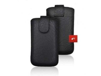 Pouzdro na mobilní telefon Black/černé pro Samsung  i9300 Galaxy S3 zapínání magnet
