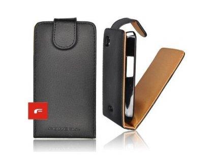Forcell Prestige Black  Pouzdro na mobilní telefon  pro  Samsung i9300 Galaxy  S3 Vertikální