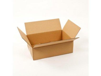 Klopová kartonová krabice 3VVL 300x200x100mm 1ks