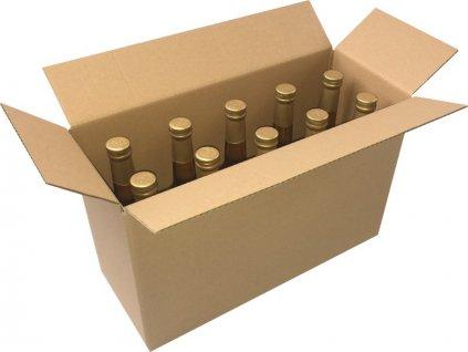 Krabice kartonová 3 vrstvá 410x165x275 mm